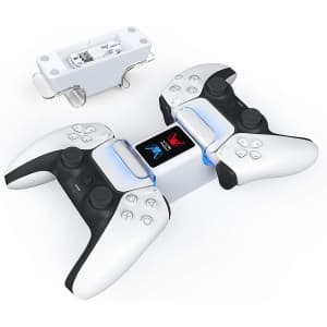 Vivefox Dual Charging Dock for Playstation 5 Controller for $6