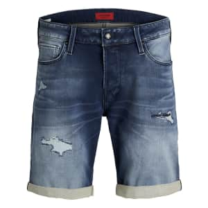 Jack & Jones Men's Trick Icon Denim Shorts for $19