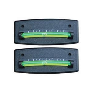 Husky XL Graduated Scale Level Stick On RV Level Set of Two Bubble Level (Black) for $13