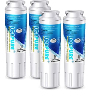 Icepure Replacement Refrigerator Water Filter 4-Pack for $30