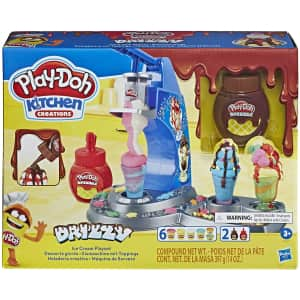 Play-Doh Kitchen Creations Drizzy Ice Cream Playset for $22