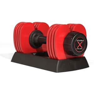 Stamina X 50-lb. Versa-Bell Dumbbell for $119 for members