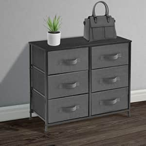 Sorbus Dresser with 6 Drawers - Furniture Storage Tower Unit for Bedroom, Hallway, Closet, Office for $119