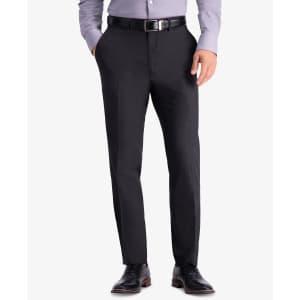 Kenneth Cole Reaction Men's Slim-Fit Stretch Dress Pants for $20