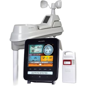 AcuRite Iris Weather Station w/ Lightning Detector for $120