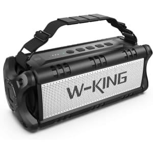 W-King Wireless Bluetooth Speaker for $77