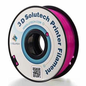 3D Solutech - 3DSPLA175STPRL See Through Purple 3D Printer PLA Filament 1.75MM Filament, for $21