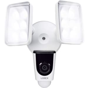Lorex 1080p WiFi Weatherproof Dual Floodlight Camera for $180