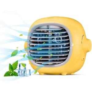 Naipo Portable Evaporative Cooler Fan for $15