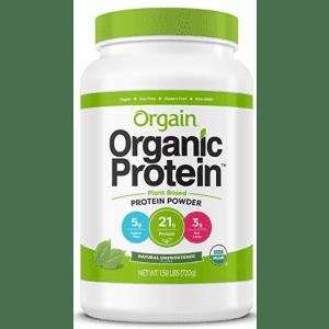 Orgain Organic Plant Protein Powder 2-lb. Jar for $27