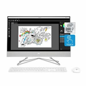 HP 24-inch All-in-One Touchscreen Desktop Computer, Intel Core i7-1065G7 Processor, 16 GB RAM, 512 for $1,000