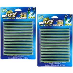 Green Gobbler Bio-Flow Drain Strips 24-Pack for $10