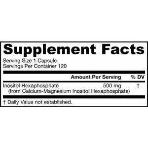Jarrow Formulas IP6 (Inositol Hexaphosphate), 500mg, 120-Capsules for $15