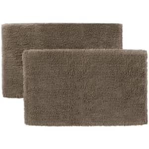 StyleWell Non-Skid Cotton Bath Rug 2-Pack from $23