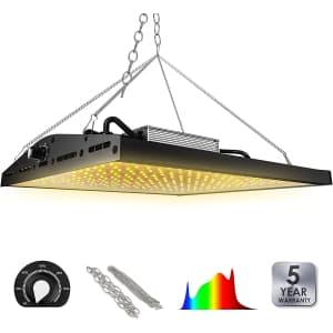 Siwasun Dimmable LED Grow Light for $100