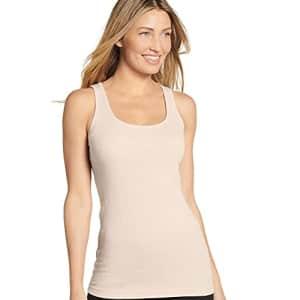 Jockey Women's Activewear Rib Tank, Dusty Sands, s for $18