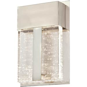 Westinghouse Lighting Cava II Bubble Glass LED Outdoor Wall Fixture for $66