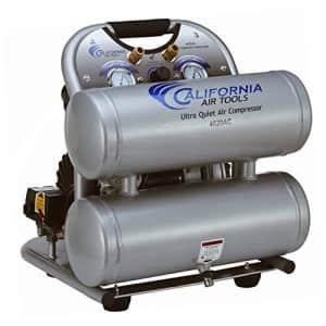 CALIFORNIA AIR TOOLS CAT-4620AC 4GAL 2HP Twn Compressor for $389