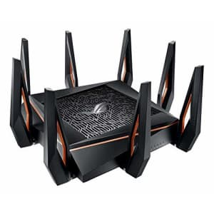 Asus ROG Rapture AX11000 Tri-Band 10 Gigabit WiFi Router for $450