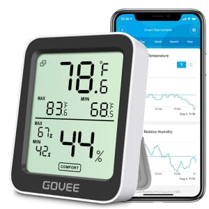 Govee Smart Thermometer / Hygrometer for $10