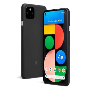 Unlocked Google Pixel 4a 5G 128GB Android Smartphone for $599