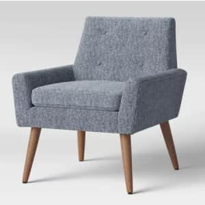 Project 62 Pruitt Mid-Century Button-Back Armchair for $162
