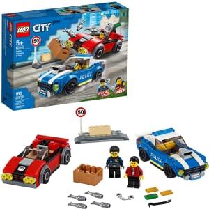 LEGO City Police Highway Arrest Kit for $22
