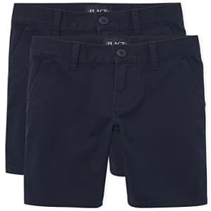 The Children's Place Girl's Chino Shorts, Tidal, 10 slim for $24