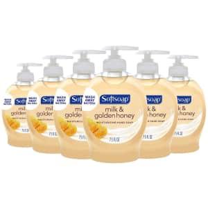 Softsoap Moisturizing Liquid Hand Soap 6-Pack for $5.01 via Sub & Save