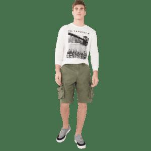 "Aeropostale Men's 11.5"" Cargo Shorts for $10"
