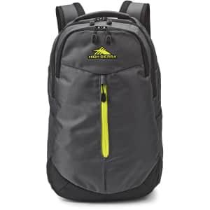 High Sierra Swerve Backpack for $25