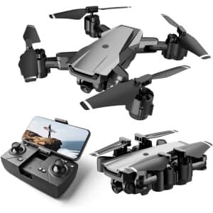 HR Quadcopter Drone w/ 1080p Camera for $80