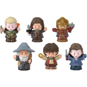 Fisher-Price Little People Collector Lord of The Rings Figure Set 6 for $30