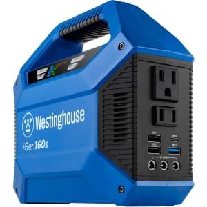 Westinghouse iGen160s Portable Power Station for $123