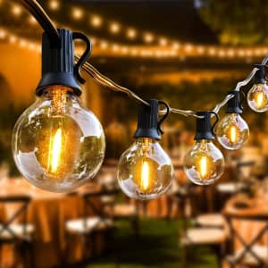 Oraoko 52-Ft. LED Outdoor String Lights for $20