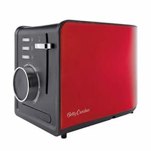 Betty Crocker WACBR603 2 Slice Toaster, One Size, Red for $30