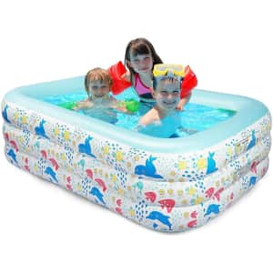 FBSport Inflatable Swimming Pool for $31