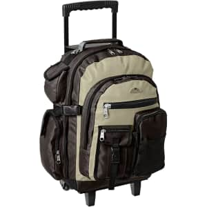 Everest Deluxe Wheeled Backpack for $44