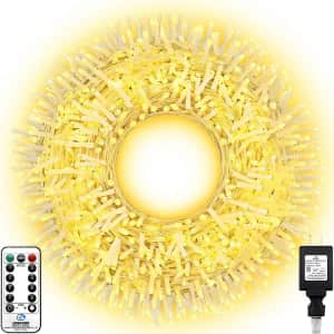 Knonew 394-Ft. LED String Lights for $45