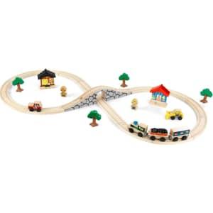 KidKraft Figure 8 Train Set for $19