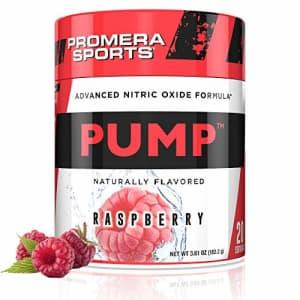 Promera Sports Pump Advanced Nitric Oxide Supplement (Raspberry) for $25