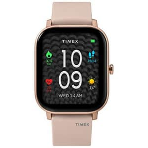 Timex Metropolitan S AMOLED Smartwatch with GPS & Heart Rate 36mm Rose Gold-Tone with Blush for $179