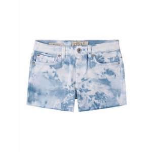 Lucky Brand Girls' Fashion Denim Shorts, Delaney Tie Dye Silver Lake, 12 for $28