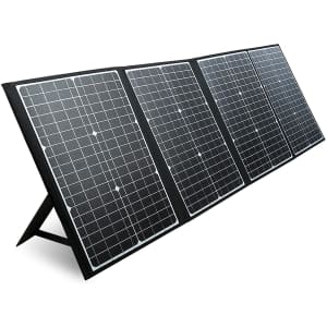 Paxcess 120W Portable Solar Panel for $141