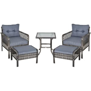 Outsunny 5-Piece Patio Furniture Set for $270