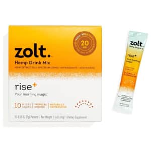 Zolt Rise Plus CBD Drink Mix 10-Pack for $17