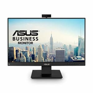 ASUS BE24EQK 23.8 Business Monitor with Webcam, 1080P Full HD IPS, Eye Care, DisplayPort HDMI, for $170