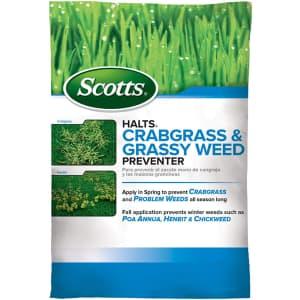 Scotts Halts Crabgrass Preventer for $18