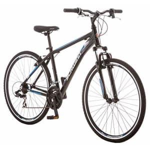 Schwinn GTX 1.0 Comfort Adult Hybrid Bike, Dual Sport Bicycle, 20-Inch Aluminum Frame, Black for $648