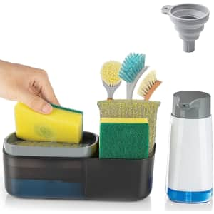 Cisily 4-in-1 Kitchen Sink Caddy for $8.54 via Prime